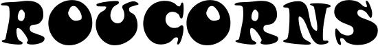 Roucorns Font