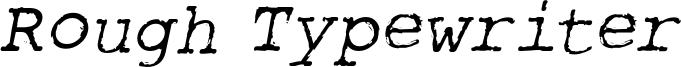 rough_typewriter-itl.otf