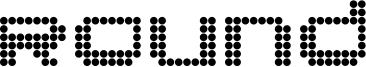 Round Font