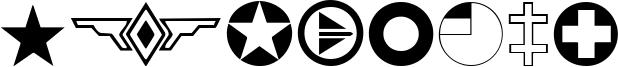Roundels Font
