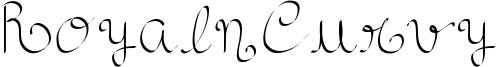 RoyalnCurvy Font