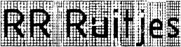 RR Ruitjes Font
