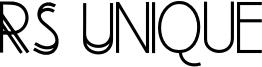 RS Unique Font