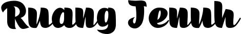Ruang Jenuh Font