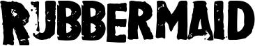 Rubbermaid Font