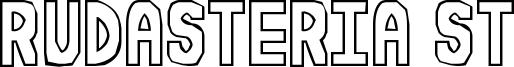 Rudasteria St Font