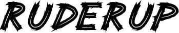 Ruderup Font