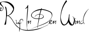 Ruf In Den Wind Font