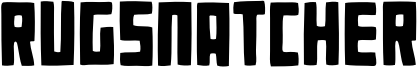 Rugsnatcher Font