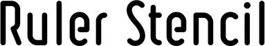 Ruler Stencil Bold.ttf