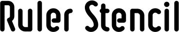 Ruler Stencil Heavy.ttf