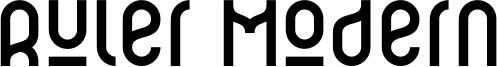 Ruler Modern Font