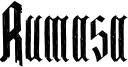 Rumasa Font
