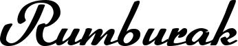 Rumburak Font