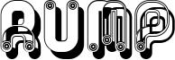 Rump Font