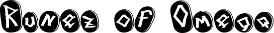 Runez of Omega Font