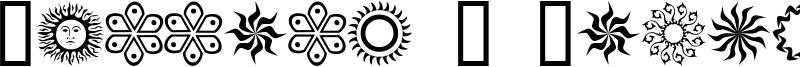 Running N Circles Font