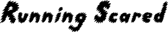 Running Scared Font