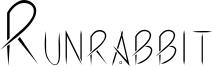 Runrabbit Font