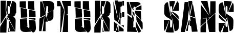 Ruptured Sans Font
