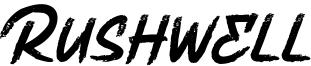 Rushwell Font
