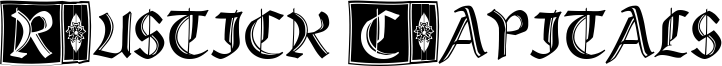Rustick Capitals Font
