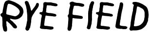 Rye Field Font