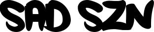 Sad Szn Font