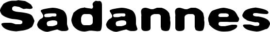 Sadannes Font
