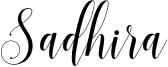 Sadhira Font