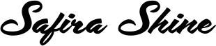 Safira Shine Font