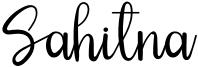 Sahitna Font