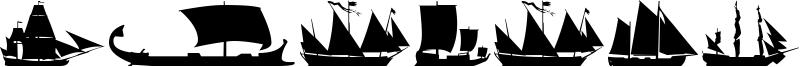 Sailing Ships Font