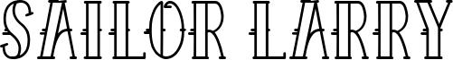 Sailor Larry Font