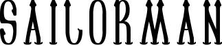 Sailorman Font