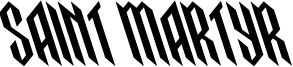 Saint Martyr Font