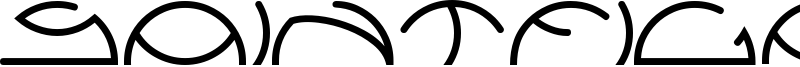 Saintfighteraqua Font