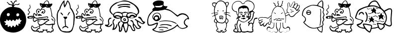Sakabe Animal 02 Font