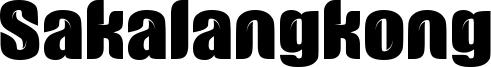 Sakalangkong Font
