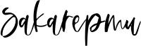 Sakarepmu Font