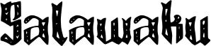 Salawaku Font