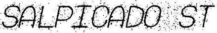 Salpicado ST Font
