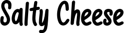 Salty Cheese Font