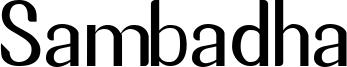Sambadha Font