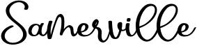 Samerville Font