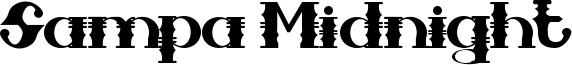 Sampa Midnight Font