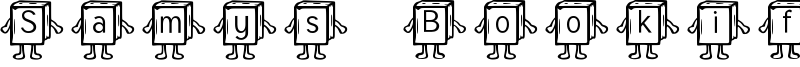 Samys Bookified Tuffy Font