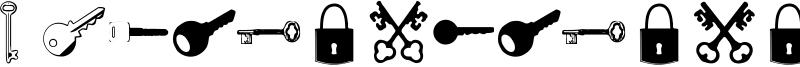 Samys Keys'N'Keys Font