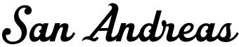 San Andreas Font