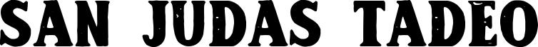 San Judas Tadeo Font